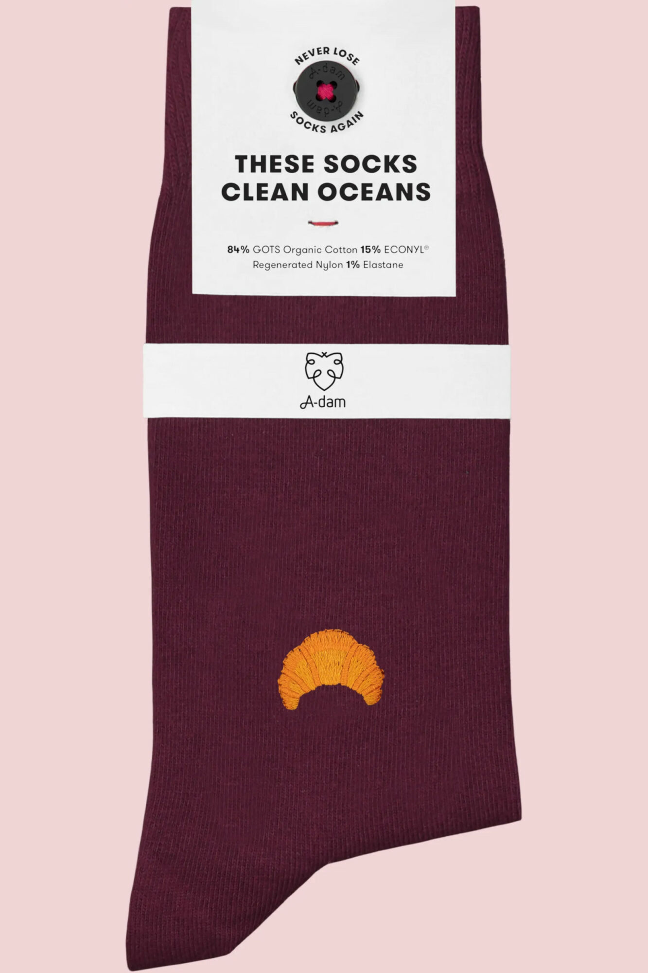 Roberta Organic Fashion Adam Socks Molly Croissant 1