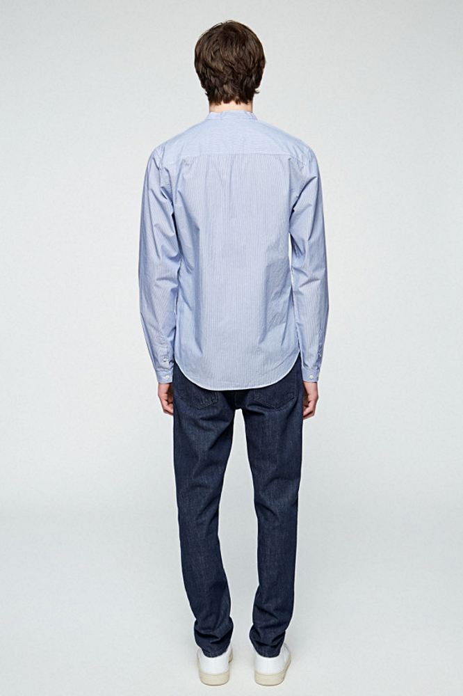 roberta organic fashion Armedangels Hemd Männer Taal gestreift back