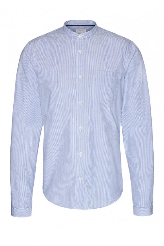 finest selection 032a5 8d519 Gestreiftes Hemd von Armedangels mit Stehkragen