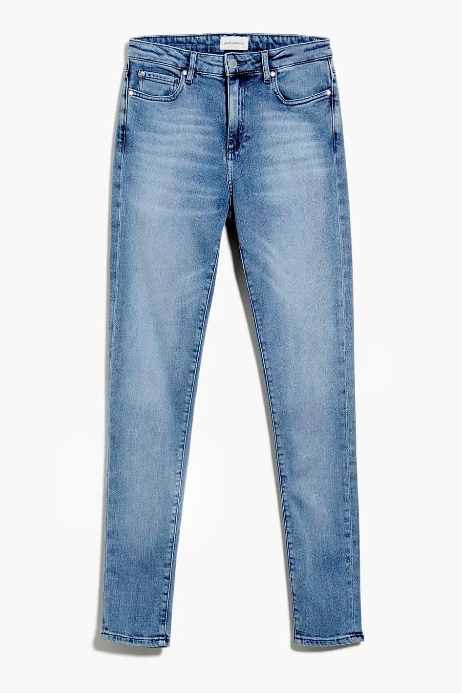 roberta organic fashion Armedangels Jeans Tillaa Stretch sky blue 2