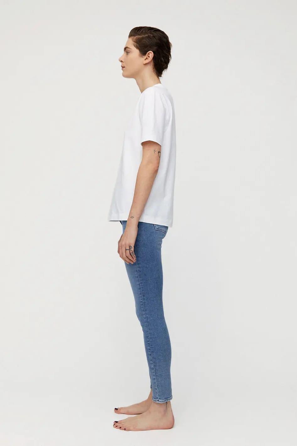roberta organic fashion Armedangels Jeans Tillaa Stretch sky blue 3