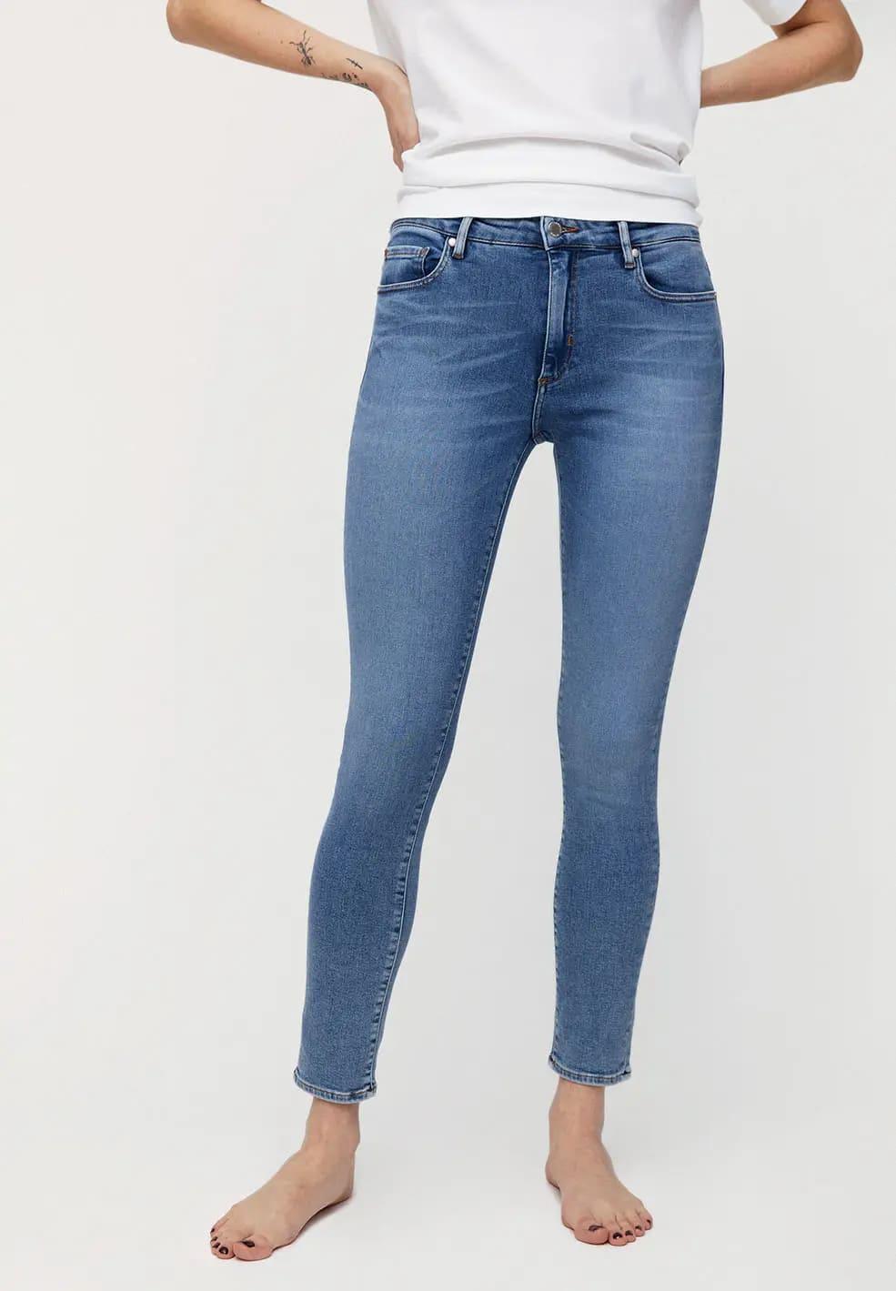 skinny Jeans Tillaa stretch von Armedangels in sky blue