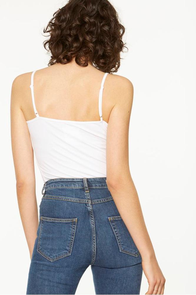 roberta organic fashion Armedangels Top Dani weiss back