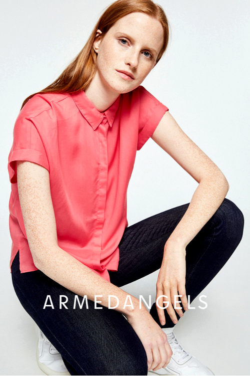 Armedangels nachhaltige Mode bei roberta organic fashion Düsseldorf