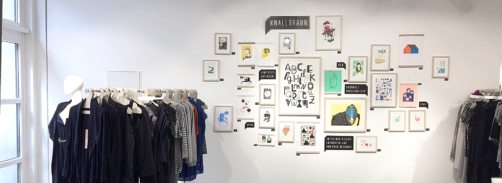 roberta x Knallbraun Ausstellung in Düsseldorf