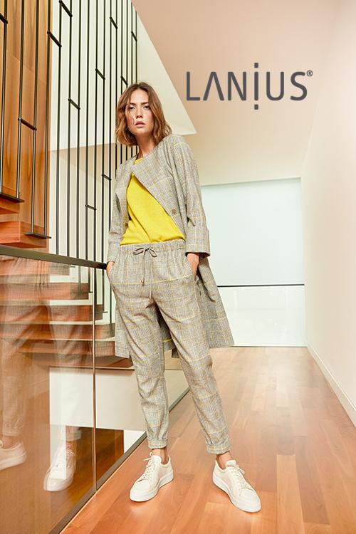 Lanius fair fashion bei roberta organic fashion Düsseldorf