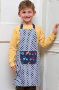 Bastel-Schürze für Kinder bei roberta organic fashion