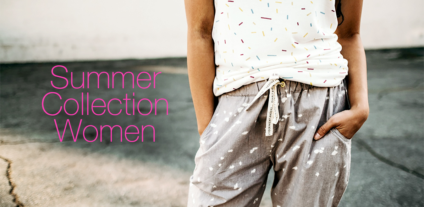 organic fashion Summer Collection for women