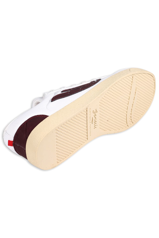 roberta organic fashion Genesis Sneaker Hela canvas white wine 1
