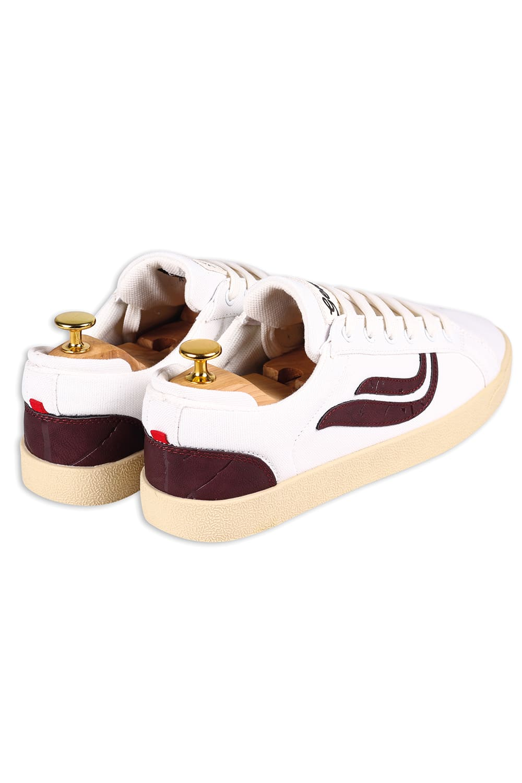roberta organic fashion Genesis Sneaker Hela canvas white wine 4