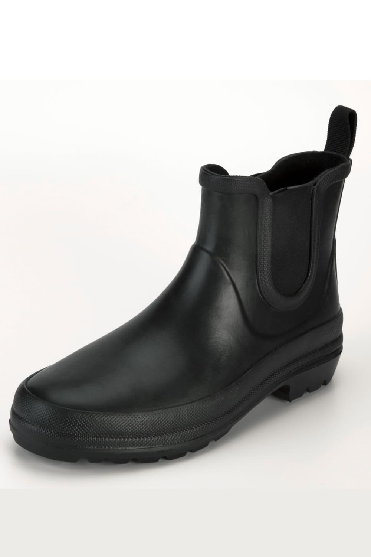 Grand Step Shoes   Victoria Gummistiefel in Schwarz