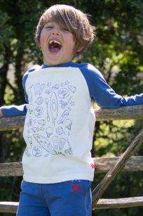 Longsleeve mit Raglanärmeln für Jungs von Kite Clothing