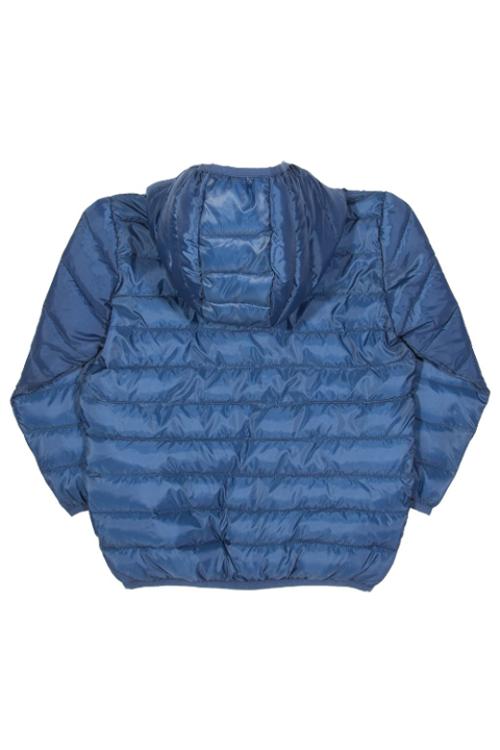 roberta organic fashion Kite Anorak für Kinder in blau back