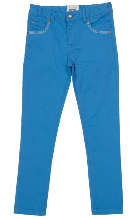 Slim Fit Jans für Mädchen in Hellblau von Kite