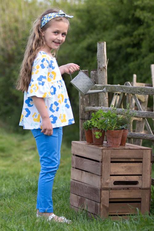 roberta organic fashion Kite skinny Jeans blau