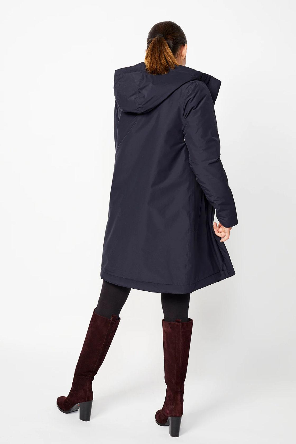 Roberta Organic Fashion Langerchen Coat Ariza Navy 2