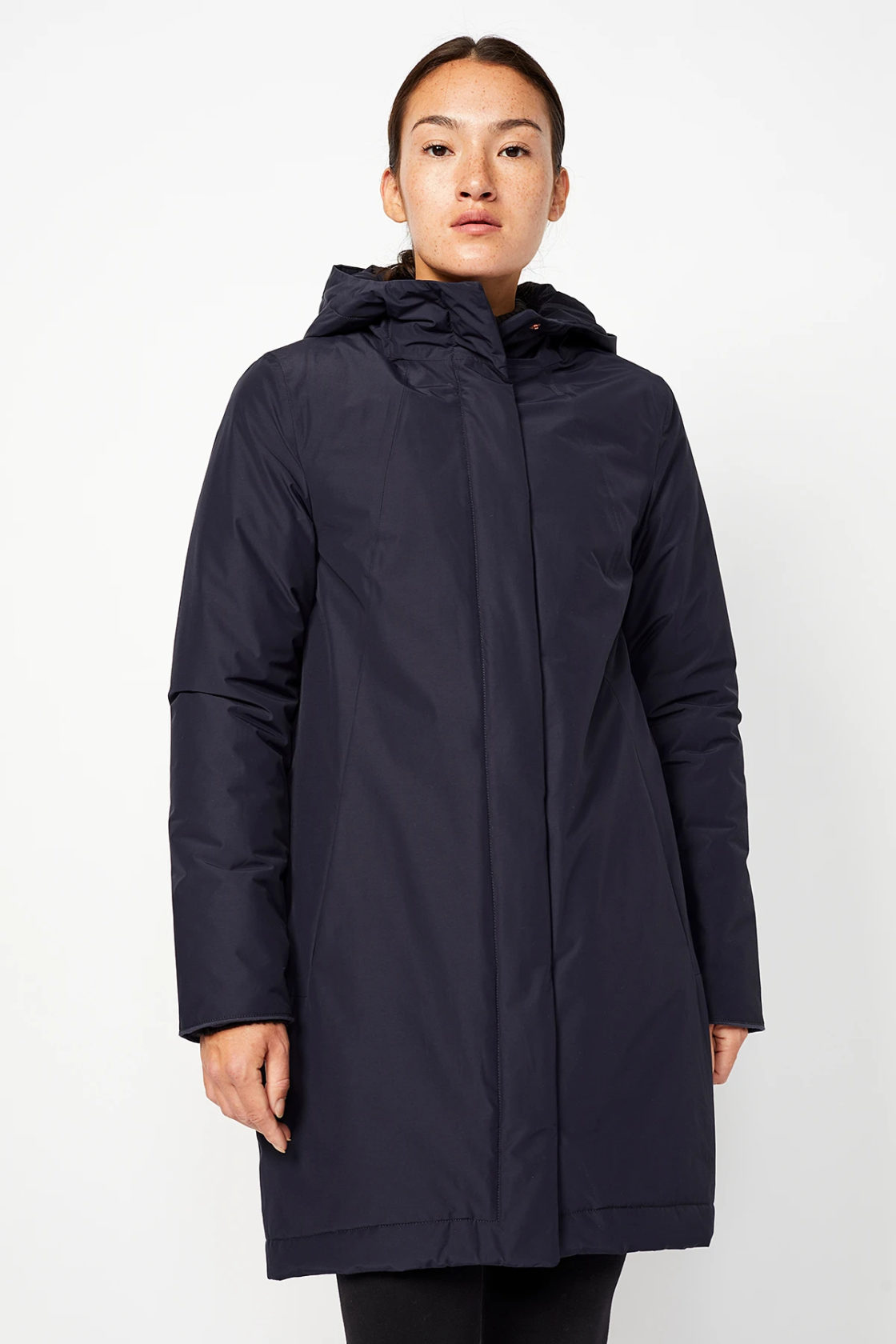 Roberta Organic Fashion Langerchen Coat Ariza Navy 4
