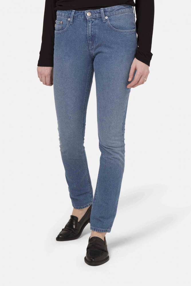 Boyfriend Jeans von Mud in stone blue