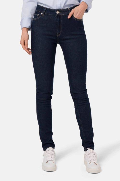 Skinny Hazen Jeans in strong blue von Mud Jeans