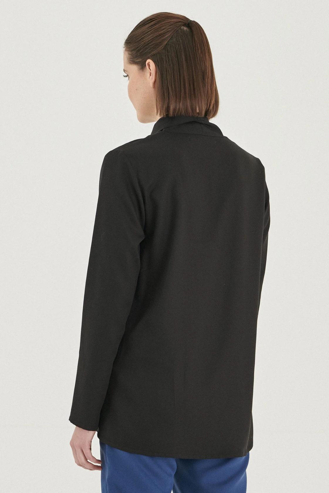 Roberta Organic Fashion Organication Bluse Black 3