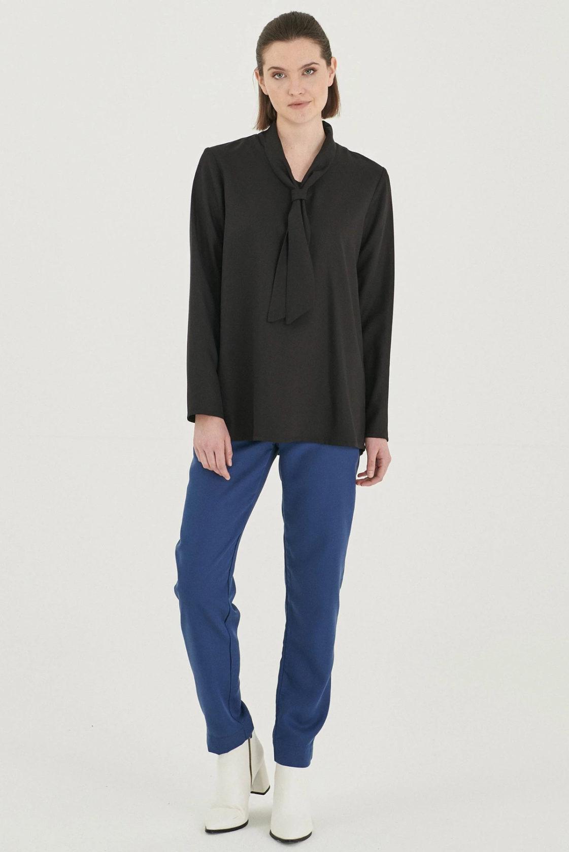 Roberta Organic Fashion Organication Bluse Black 4