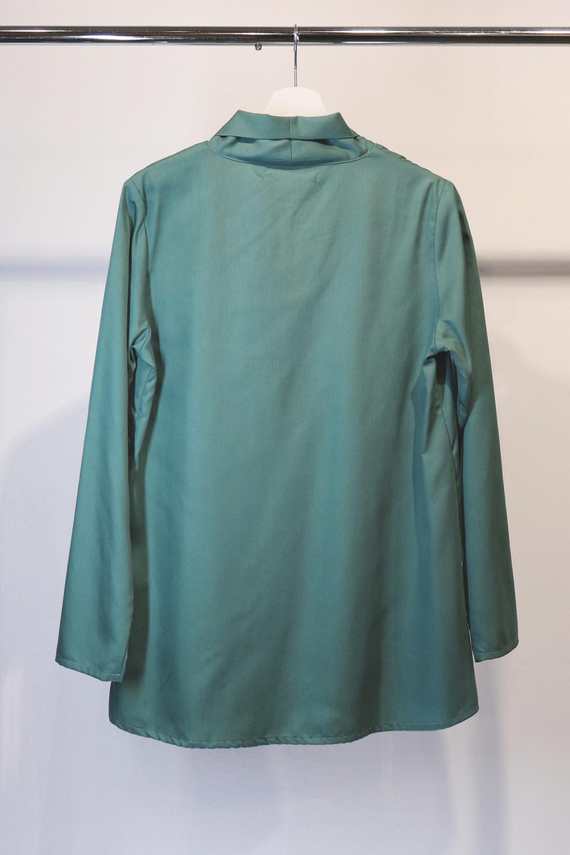 Roberta Organic Fashion Organication Bluse Seaweed 1