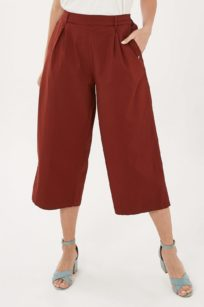 Roberta Organic Fashion Organication Culotte Hot Chocolate 1. Jpg