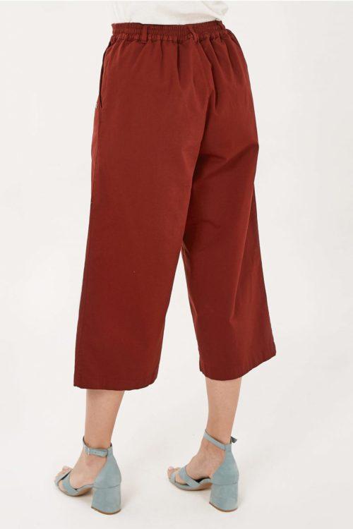 Roberta Organic Fashion Organication Culotte Hot Chocolate 2. Jpg