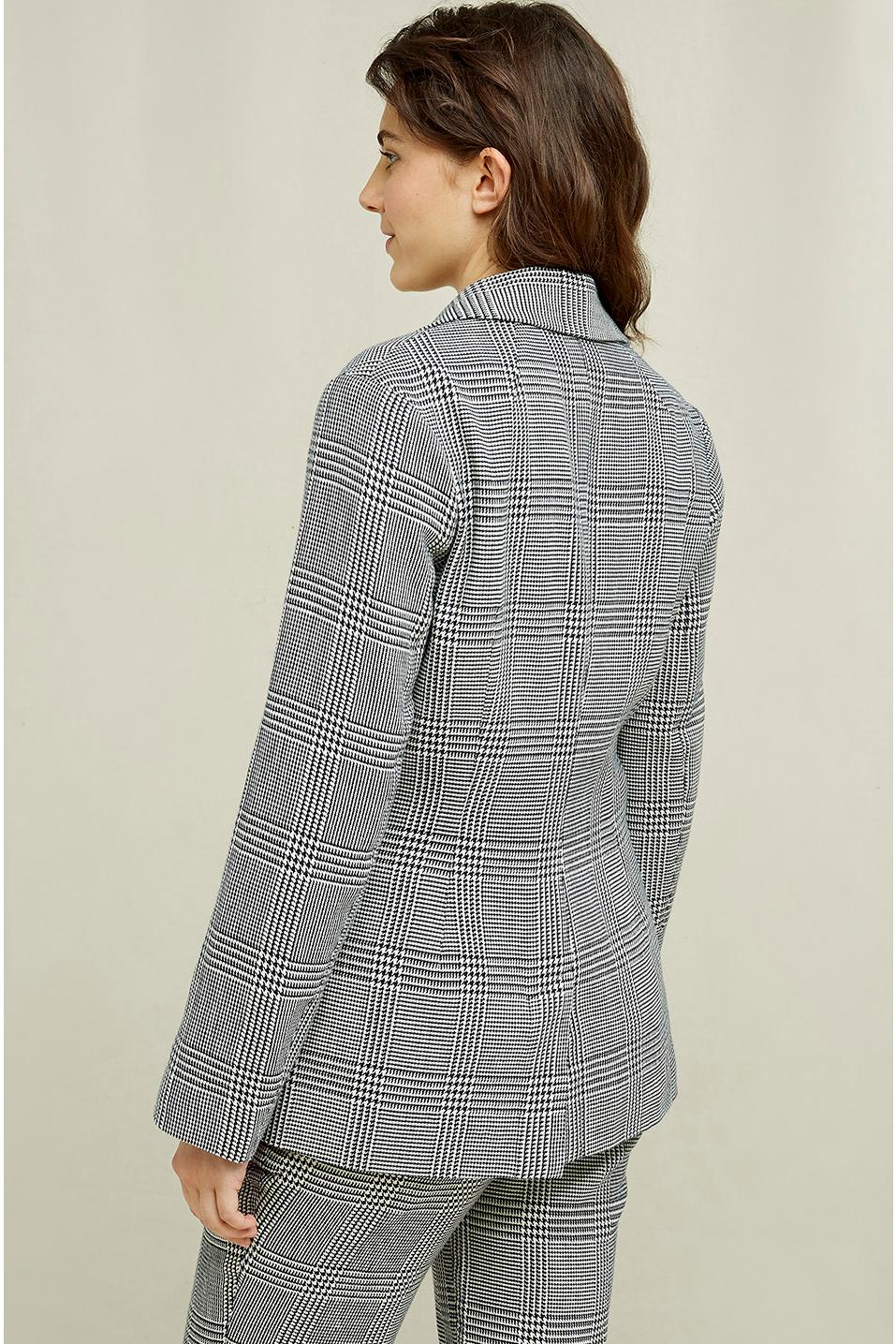 Roberta Organic Fashion Peopletree Blazer Mirren Checkered 6