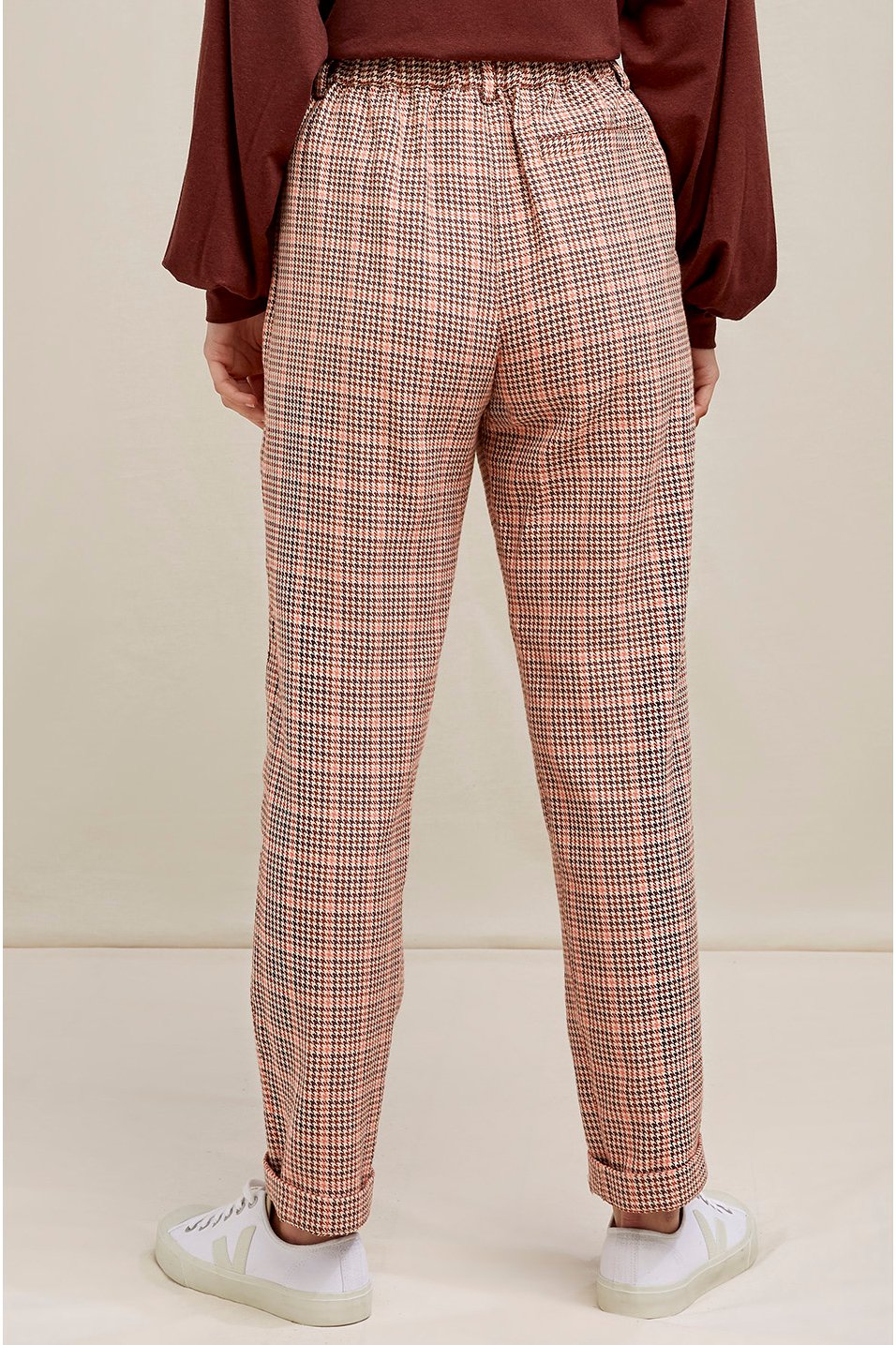 Roberta Organic Fashion Peopletree Hose Annis Houndstooth 4