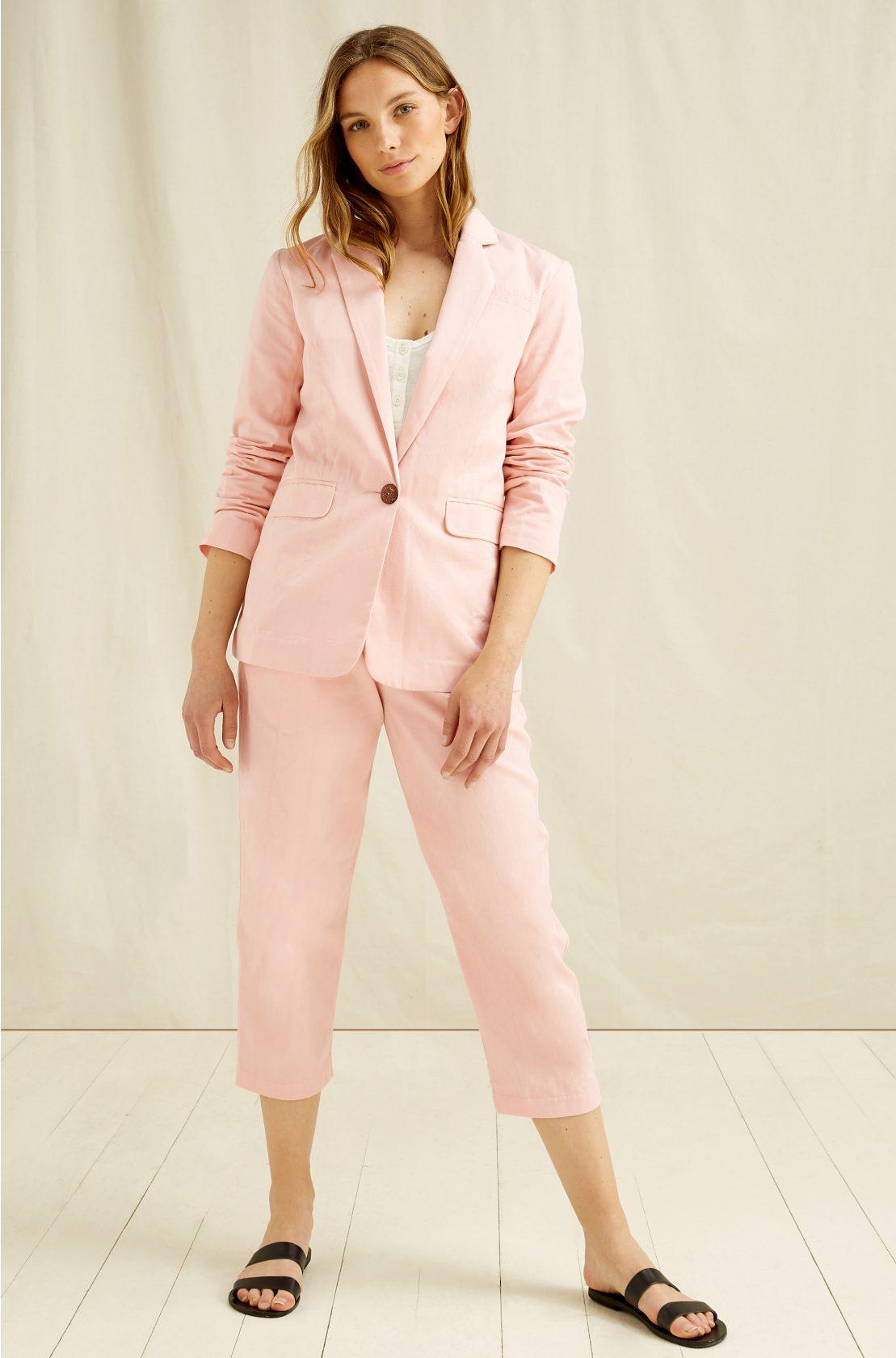 Roberta Organic Fashion Peopletree Mirren Blazer 2