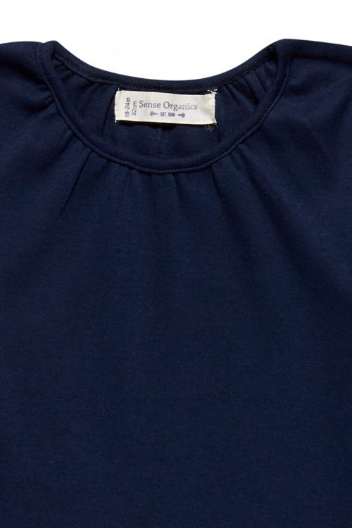 roberta organic fashion Sense Organics Shirt Selly mit Stickerei Hals