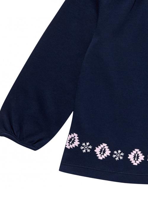 roberta organic fashion Sense Organics Shirt Selly mit Stickerei detail