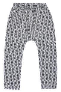 Hose für Mädchen aus Sweat mit Ikatmuster