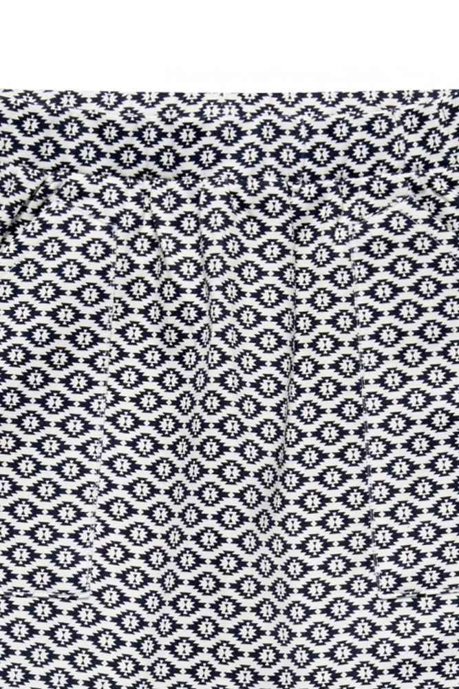 roberta organic fashion Sense Organics Talia Sweatpants Ikat detail