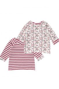 Wende-Sweatshirt mit Schneeflocken für Mädchen