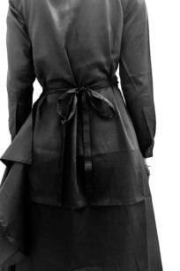 Roberta Organic Fashion Sophia Schneider Esleben Wrapdress Black 1
