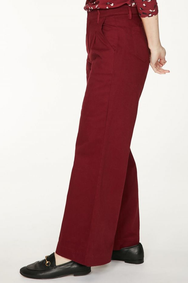 Roberta Organic Fashion Thought Hose Keri Ruby Red 1