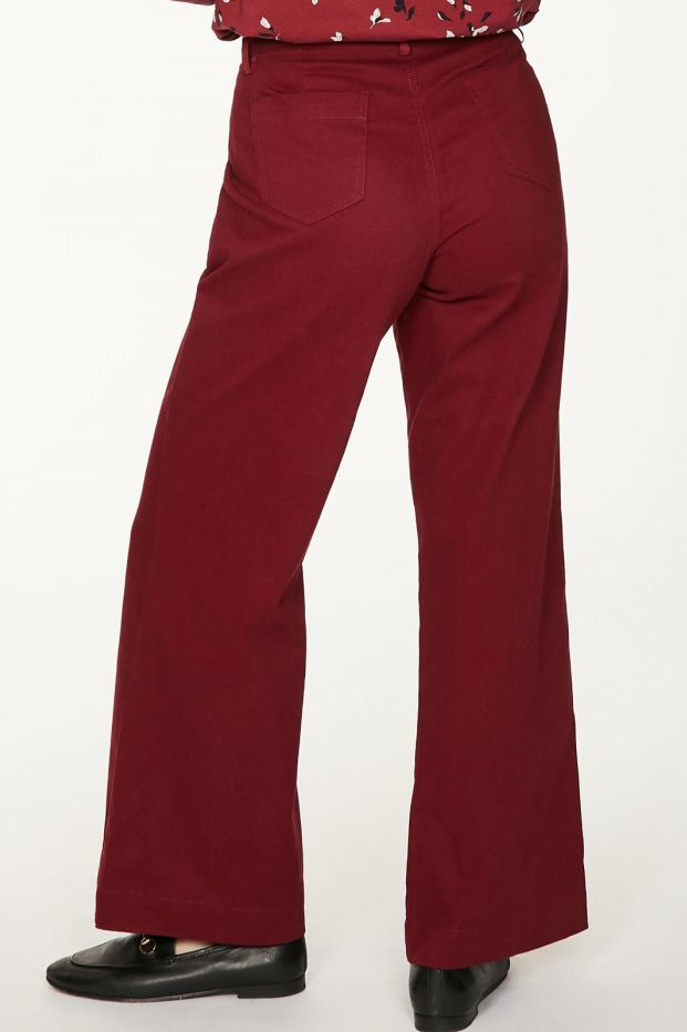 Roberta Organic Fashion Thought Hose Keri Ruby Red 2