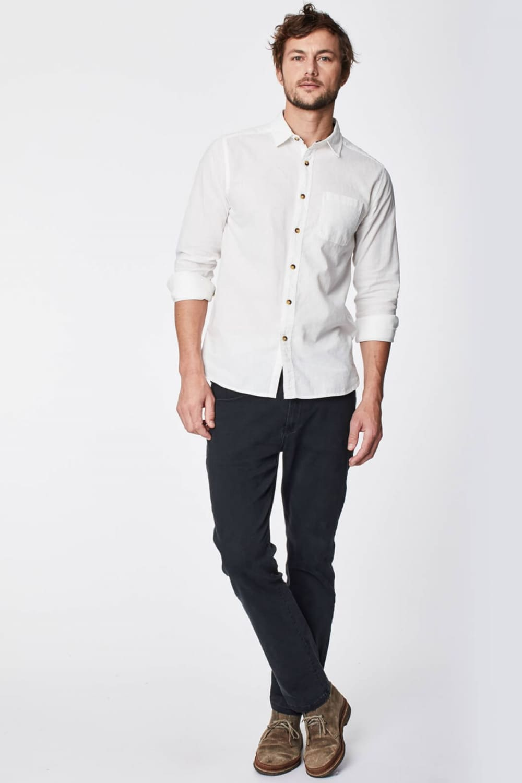 roberta organic fashion Thought Männer Jeans stone black 1