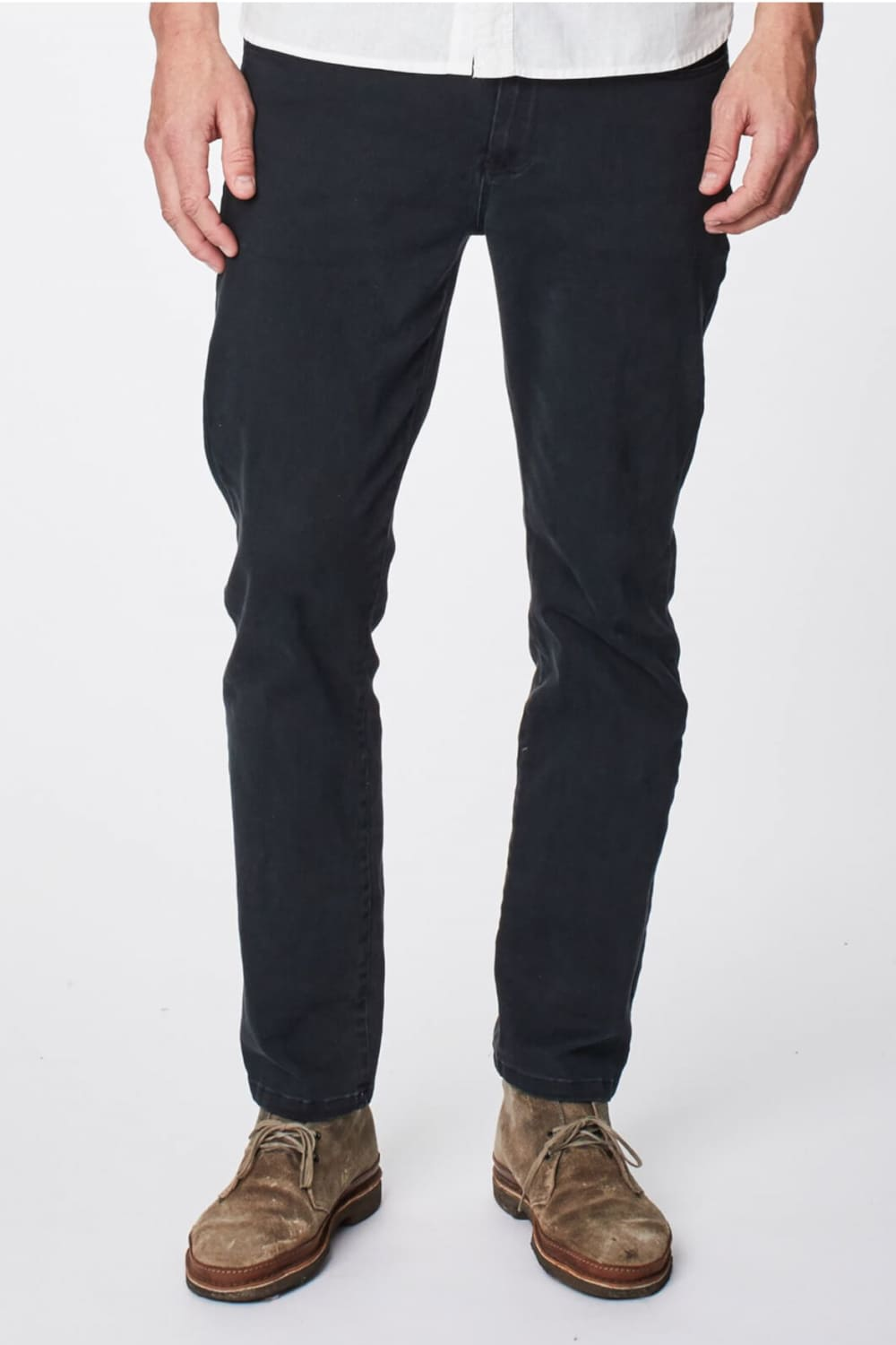 regular Jeans in dark grey