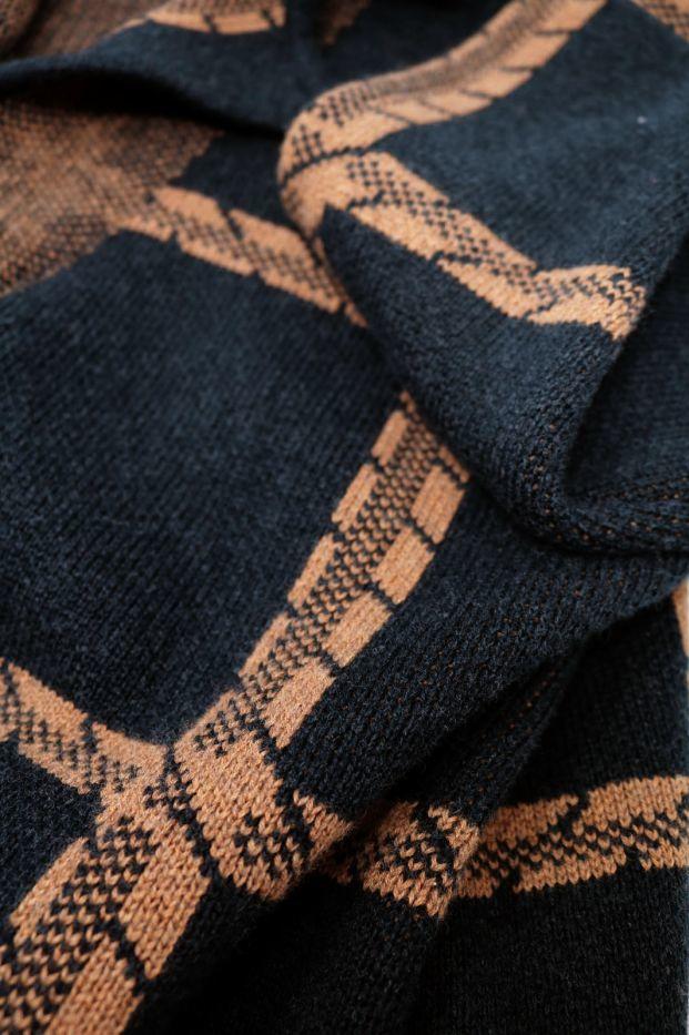 Roberta Organic Fashion Thought Strickmantel Chatterton Navy 6