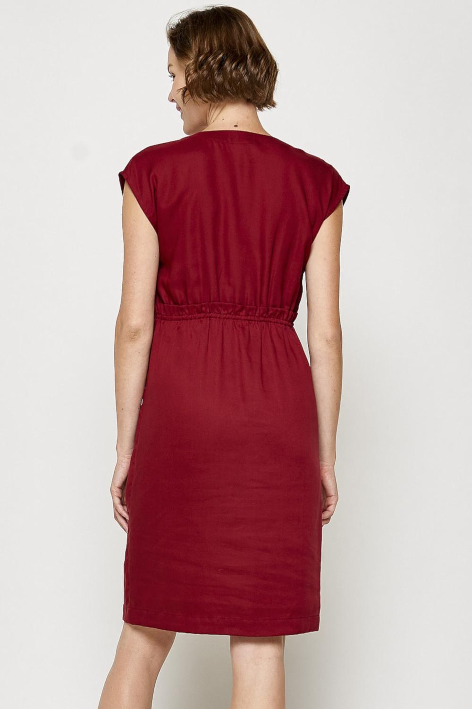 Roberta Organic Fashion Tranquillo Kleid Louise Rot 3