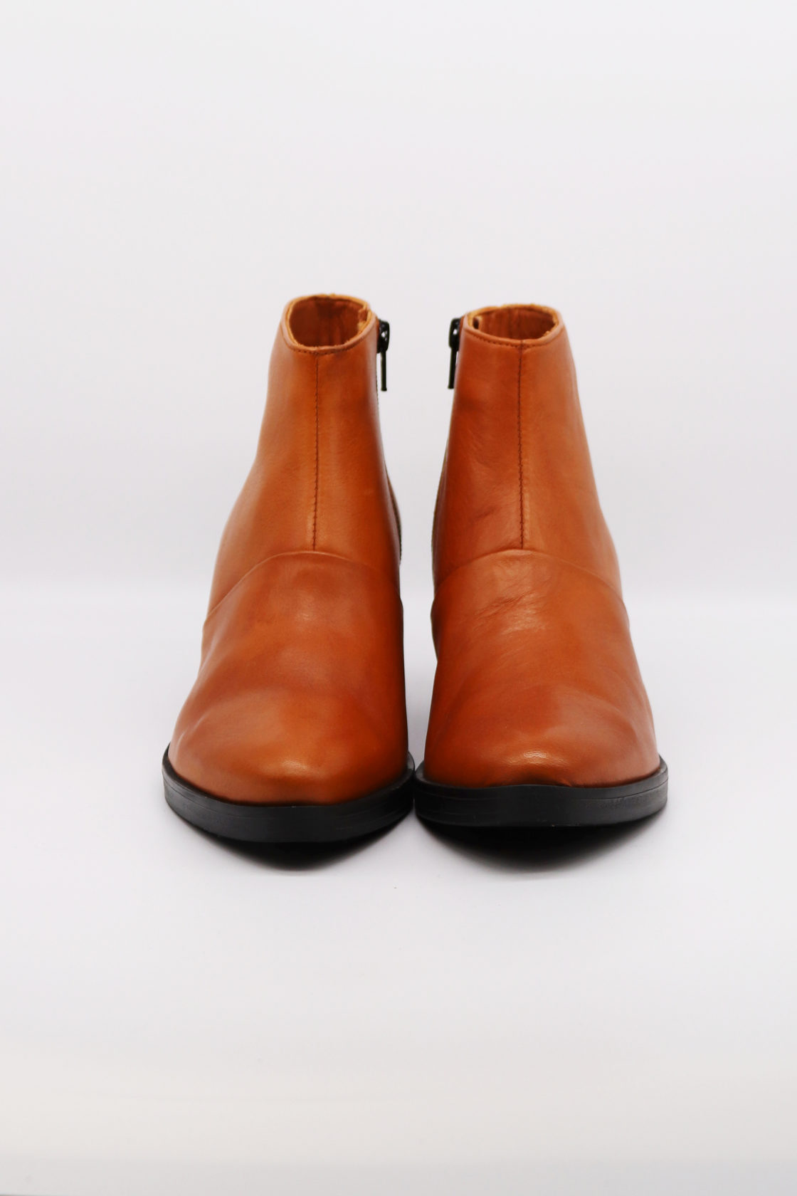 Roberta Organic Fashion Werner Ankle Boots Cognac 3