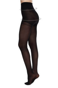 Swedish Stockings recycling STrumpfhosen schwarz Anna Control top