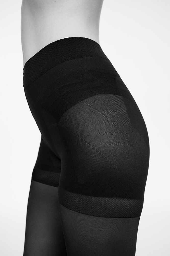 roberta organic fashion swedish stockings Anna control top side