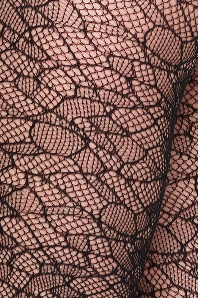 roberta organic fashion swedish stockings Edith lace Muster