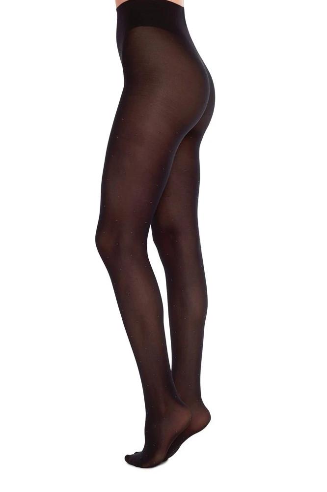 Roberta Organic Fashion Swedish Stockings Filippa Dots Schwarz 1