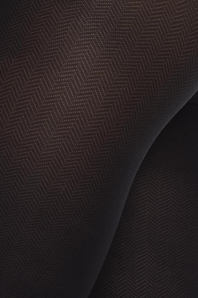 roberta organic fashion swedish stockings Nina fishbone Muster