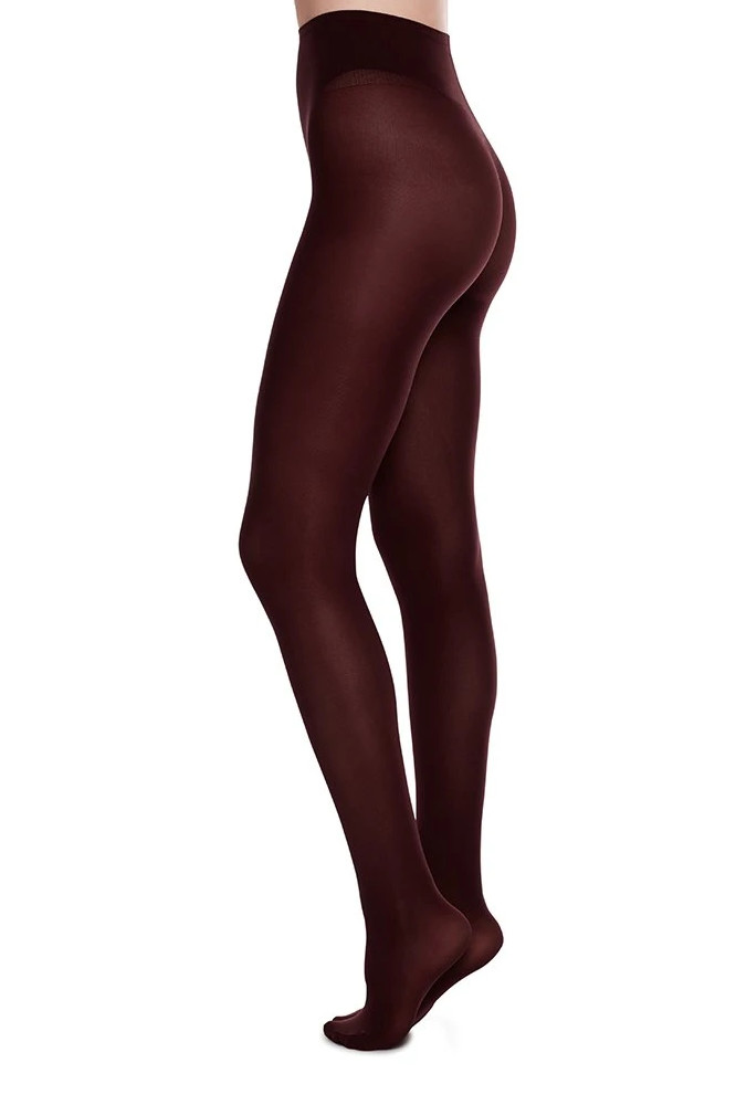 Roberta Organic Fashion Swedish Stockings Olivia Bordeaux 1